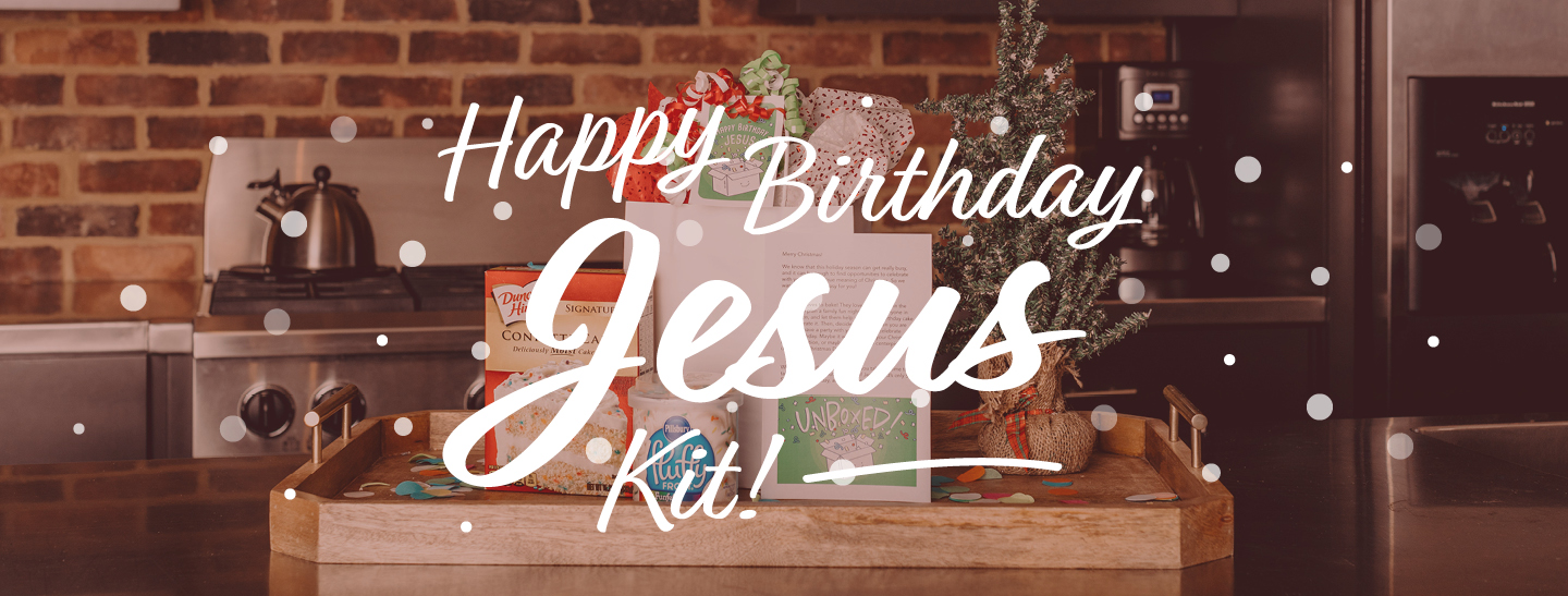 Happy Birthday Jesus Kit Free Downloadable Files