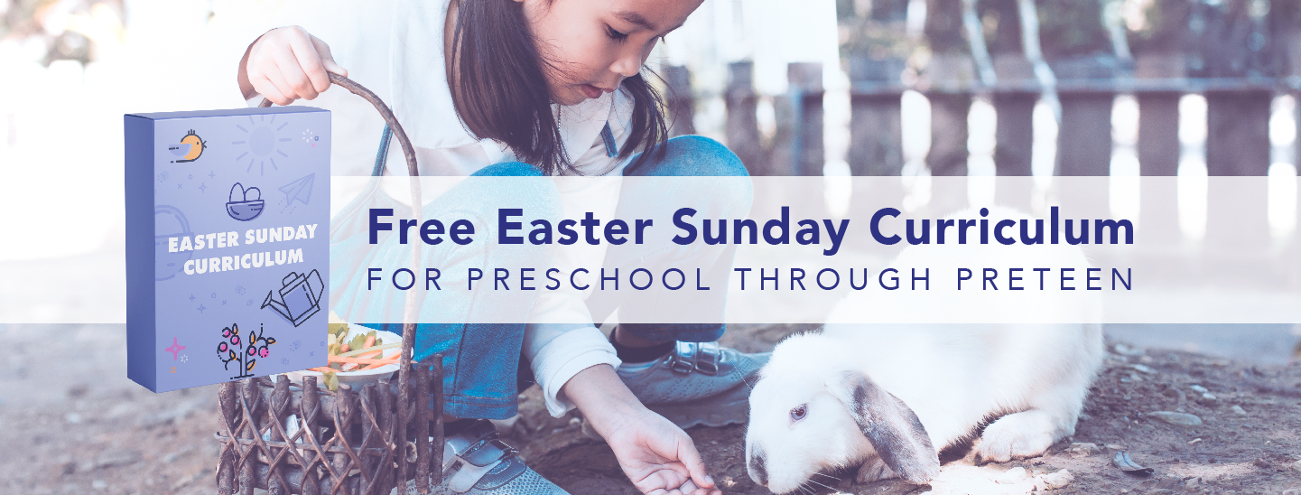 Easter Sunday Lessons for FREE from the team at Orange Kids