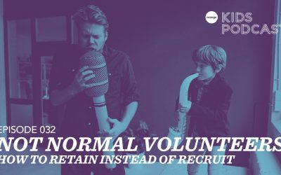 OKP 032: Not Normal Volunteers – How to Retain instead of Recruit